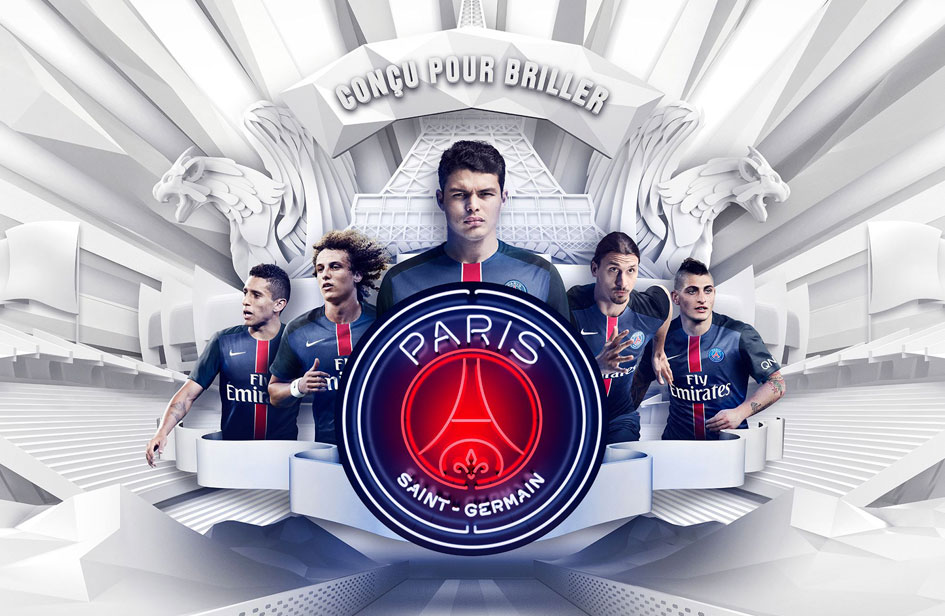 Paris Saint Germain - publicité