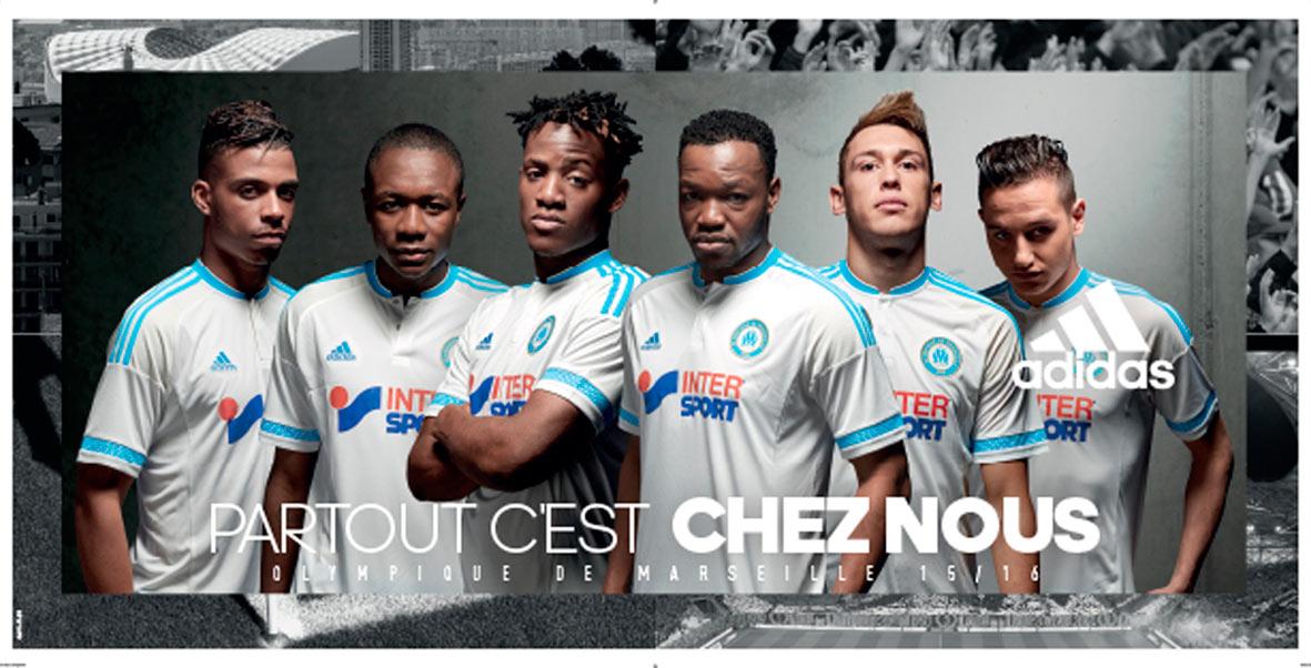 Olympique de Marseille - publicité